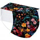 1x Hygienické jednorázové Rúško-Flowers/Typ18