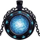 Náhrdelník Hviezdna Brána-Čierna