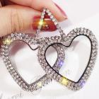 Náušnice Bijoux Heart-Strieborná