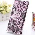 Peňaženka Leopard - Ružová