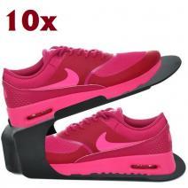 10x Organizér na topánky-Čierna