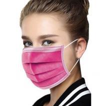 1x Hygienické jednorázové Rúško-Ružová
