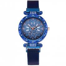 Magnetické Hodinky Tinsel-Modrá