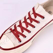 Magnetické šnúrky do topánok-Červená2