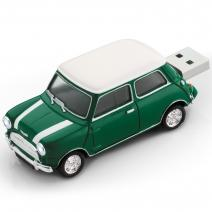 Mini Cooper 8GB USB - Zelená