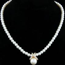 Náhrdelník Pearl Julie-Zlatá
