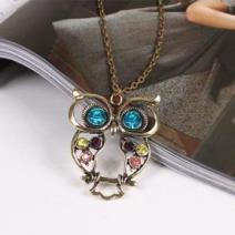 Náhrdelník Vintage Owl