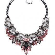 Náhrdelník Vintage Spring-Ružová