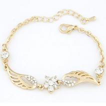 Náramok Anjelské Krídla - Zlatá