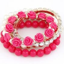 Náramok Multipack - Ružová