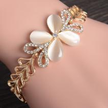 Náramok Opal Blossom-Zlatá