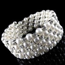 Náramok Pearl Crystal - Elegant