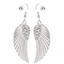 Náušnice Angel wings - Strieborná