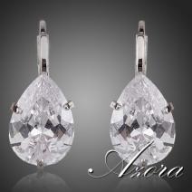 Náušnice Diamond AZORA-Strieborná