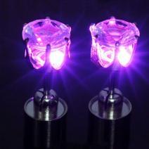 Náušnice Light-Ružová
