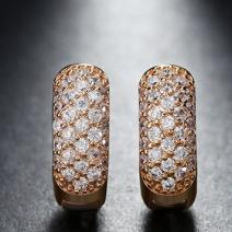 Náušnice Queen Luxury-Zlatá