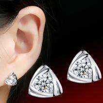 Náušnice Silver Triangle - Strieborná