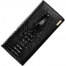 Peňaženka Crocodile - Čierna