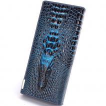 Peňaženka Crocodile - Modrá