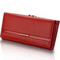 Peňaženka Elegant - Červená