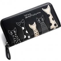 Peňaženka Kitten-Čierna