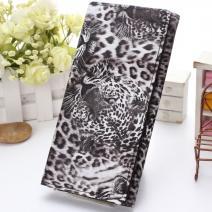 Peňaženka Leopard - Čierna