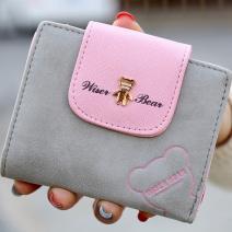 Peňaženka Teddy Bear-Sivá
