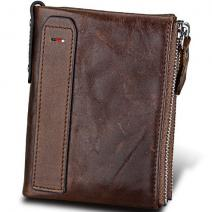 Peňaženka William-TmHnedá