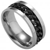 Prsteň Chuan-Str./Čierna/67mm