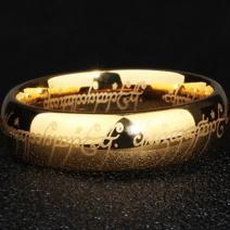 Prsteň Frodo-Zlatá/62mm