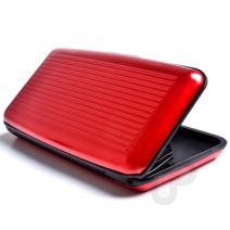 Púzdro na doklady ALUMA WALLET - Červená