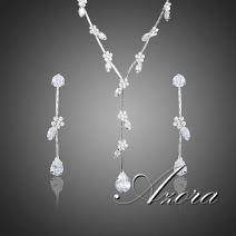 Set AZORA Water Flower - Kryštálová
