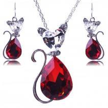 Set Cat - Červená