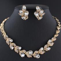 Set Crystal Branch-Zlatá/Kryštálová