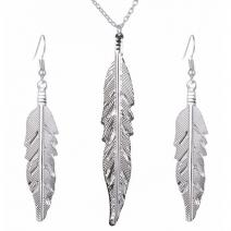 Set Feather-Strieborná