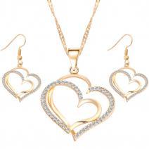 Set Heart Lines - Zlatá