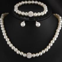 Set Pearl Match-Biela