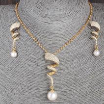 Set Spiral Pearl-Zlatá