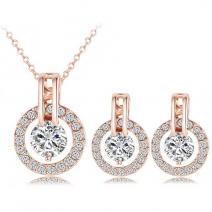 Set šperkov Aretes - Zlatá