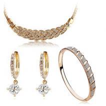 Set šperkov RING - Zlatá