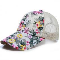 Šiltovka Kvety-Biela