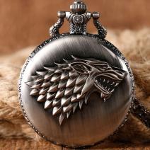 Vreckové Hodinky Stark-Čierna