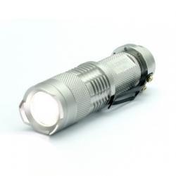 300 Lumenová mini baterka - Strieborná