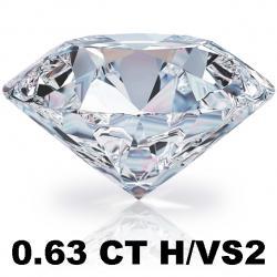 Briliant 0.63 CT H/VS2 + EGL