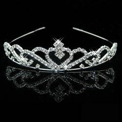 Čelenka/Korunka Crown - Strieborná 1