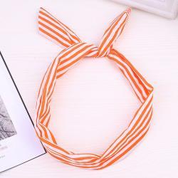 Čelenka Xénia-Typ4/Oranžová-Biela