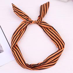 Čelenka Xénia-Typ8/Oranžová-Čierna
