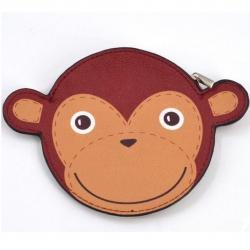 Detská peňaženka Opička-Hnedá
