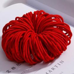 Detské gumičky do vlasov-Červená