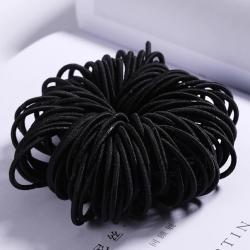 Detské gumičky do vlasov-Čierna